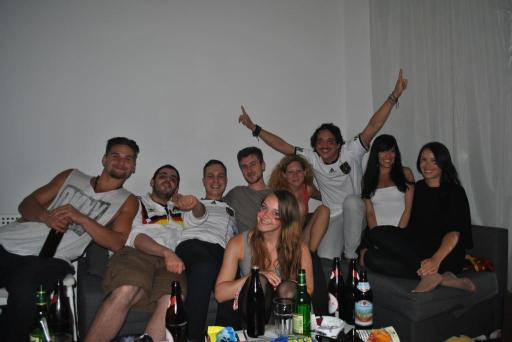 Me and my friends supporting SCHLAND!