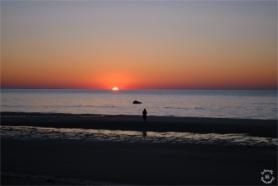 Sunset Silhouette Cape Cod