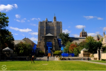Around Yale Campus