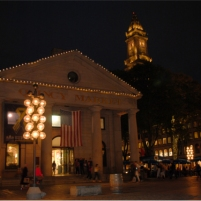 Quincy Market in Downtown