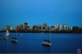 Boston skyline from Cambridge