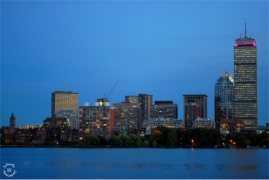 Boston skyline from Cambridge