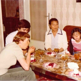 Oliver, Madga and Nathalie