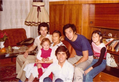 The family meeting in the 70's