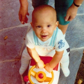 Me... very young