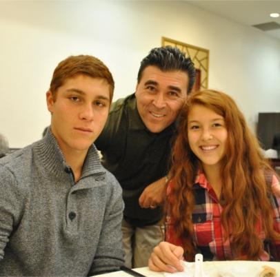 Etienne, Oliver and Savanna