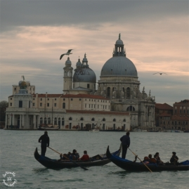 The grand Basilica from Piazza San Marco