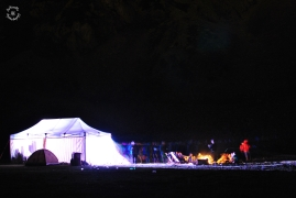 The tent and party folks again. I will show you the big tent soon as well