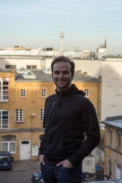 Mark, the founder of Black Sheep Athletics Berlin