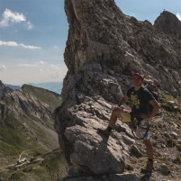BeNicoMa climbing in the Alps